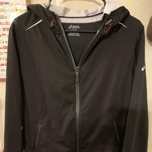 Women's Medium ASICS Black Running Jacket